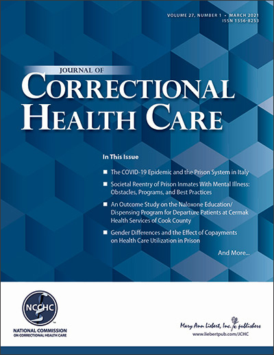 Journal of Correctional Health Care