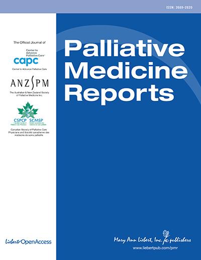 Palliative Medicine Reports