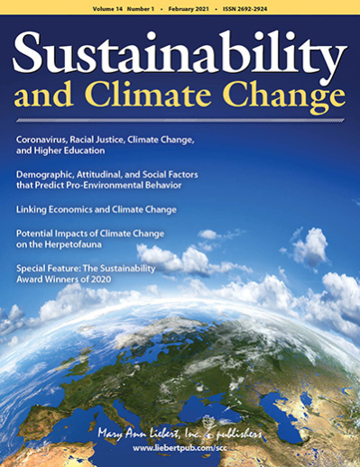 Sustainability and Climate Change