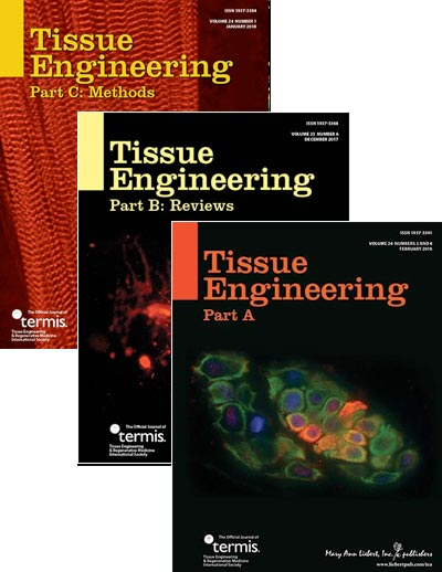 Tissue Engineering, Parts A, B, & C