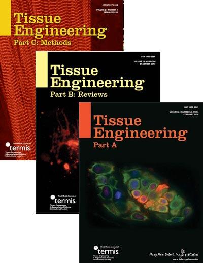 Tissue Engineering, Parts A, B, & C | Mary Ann Liebert, Inc