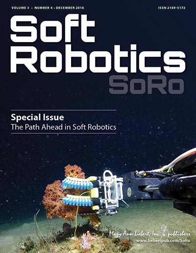 Soft Robotics | Mary Ann Liebert, Inc , publishers