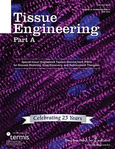 Tissue Engineering, Parts A, B, & C   Mary Ann Liebert, Inc , publishers