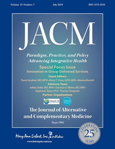 The Journal of Alternative and Complementary Medicine | Mary Ann