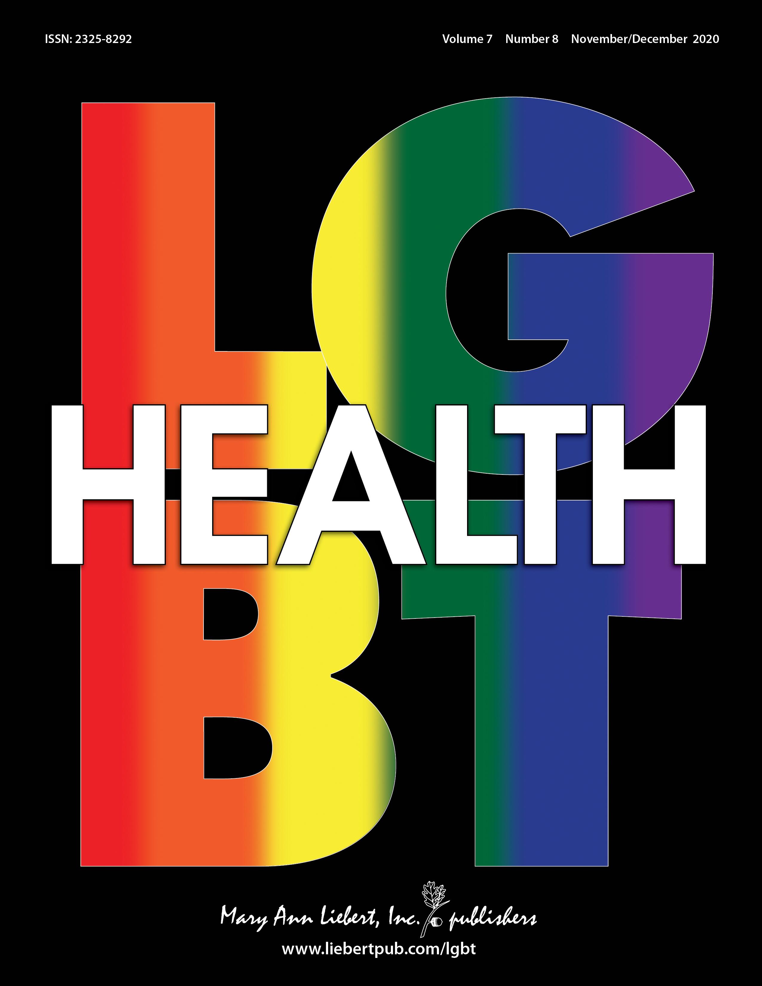 LGBT Health | Mary Ann Liebert, Inc., publishers
